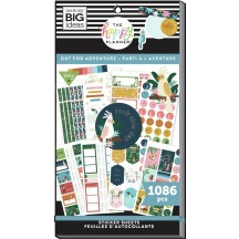 Me & My Big Ideas The Happy Planner Out for Adventure Student Classic Value Pack Stickers SVP130-008