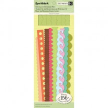 K&Co Sweet Nectar Solid Specialty Borders Pad with glitter