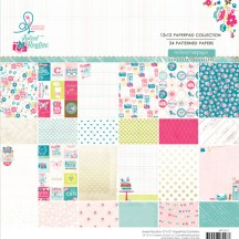 "Webster's Pages Sweet Routine 12""x12"" Collection Paper Pad PP1217"