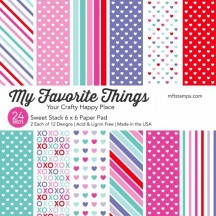 "My Favorite Things Sweet Stack 6""x6"" Paper Pack"