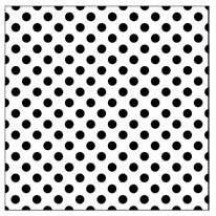The Crafters Workshop 6x6 Template - Mini Swiss Dots