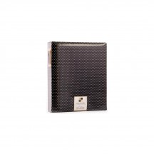 DCWV Moment Maker Planner System Black With White Dots 6-Ring Storage Binder SY-002-00065