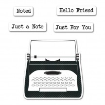 Sizzix Noted Framelits Stamp & Dies 659521 - Jillibean Soup