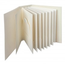 Graphic 45 Staples Ivory ATC Rectangle Tag & Pocket Album 4501813