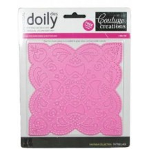 Couture Creations Tatted Lace Doily Die 127x127mm - CO723223