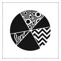 "The Crafters Workshop Pie Chart 12""x12"" Template - TCW341"