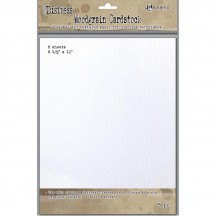 "Ranger Tim Holtz Distress Woodgrain Cardstock 8.5"" x 11"" - 5 Sheets"