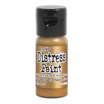 Ranger Tim Holtz Tarnished Brass Distress Paint Fliptop TDF50643