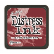 Ranger Tim Holtz Aged Mahogany Mini Distress Ink Pad TDP39839 brown