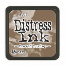 Ranger Tim Holtz Frayed Burlap Mini Distress Ink Pad TDP39990 grey