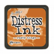 Ranger Tim Holtz Rusty Hinge Mini Distress Ink Pad TD40125 brown