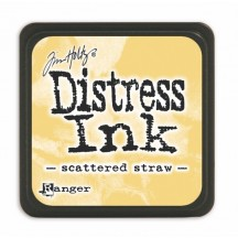 Ranger Tim Holtz Scattered Straw Mini Distress Ink Pad TDP40149 yellow
