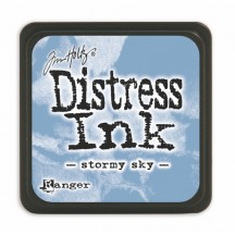 Ranger Tim Holtz Stormy Sky Mini Distress Ink Pad TDP40217 blue