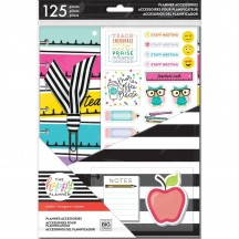 Me & My Big Ideas Create 365 CLASSIC Happy Planner Teacher Accessory Pack PSAP-07