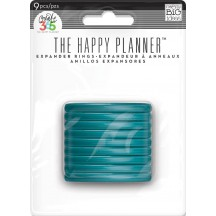 Me & My Big Ideas Create 365 The Happy Planner Teal Expander Rings RING-09