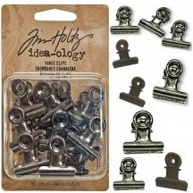 Tim Holtz Idea-ology Fasteners - Hinge Clips TH92692