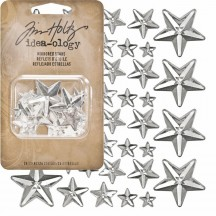 Tim Holtz Idea-ology Findings - Mirrored Stars - TH93083