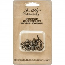 Tim Holtz Idea-ology Hex Fasteners TH93268
