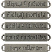 Tim Holtz Idea-ology Word Bands - Halloween TH93605