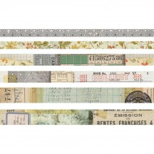 Tim Holtz Idea-ology Washi Design Tape - Collector TH93674