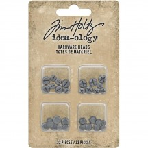 Tim Holtz Idea-ology Mini Hardware Heads TH93788
