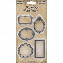 Tim Holtz Idea-ology Adornments Deco Frames TH93792