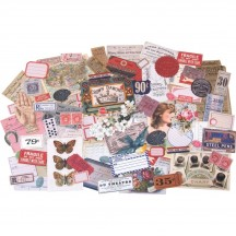 Tim Holtz Idea-ology Keepsakes Die Cut Ephemera Pack TH93958