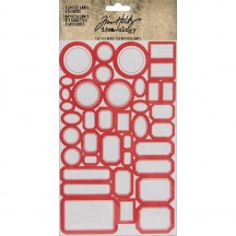 Tim Holtz Idea-ology Classic Label Stickers TH93959