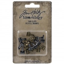 Tim Holtz Idea-ology Tiny Clips TH94025