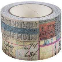 Tim Holtz Idea-ology Fabric Tape TH94041