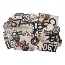 Tim Holtz Idea-ology Layers Urban Die Cut Ephemera Pack TH94042