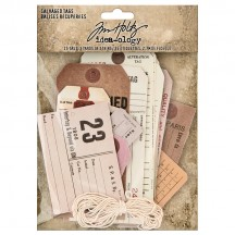 Tim Holtz Idea-ology Salvaged Tags TH94048