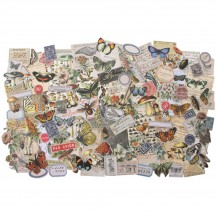 Tim Holtz Idea-ology Field Notes Die Cut Ephemera Pack TH94051