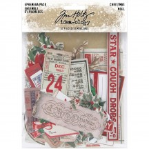 Tim Holtz Idea-ology Christmas Die Cut Ephemera Pack TH94086