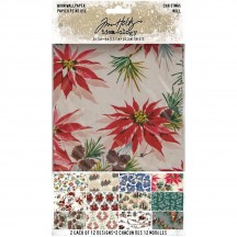 Tim Holtz Idea-ology Christmas Worn Wallpaper TH94088
