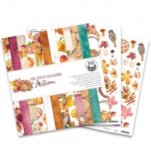 "P13 The Four Seasons Autumn 12""x12"" Scrapbook Paper Pad P13-AUT-08"