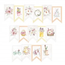P13 The Four Seasons Spring Garland Die-Cut Cardstock P13-SPR-32