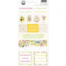 P13 The Four Seasons Summer Icon & Phrase Stickers 02 P13-SUM-12