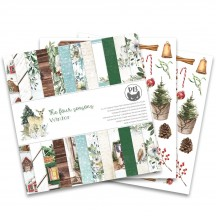 "P13 The Four Seasons Winter 12""x12"" Scrapbook Paper Pad P13-WIN-08"