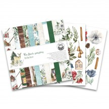 "P13 The Four Seasons Winter 6""x6"" Designer Paper Pad P13-WIN-09"