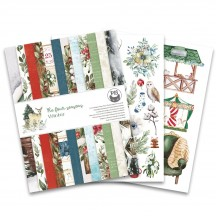 "P13 The Four Seasons Winter 6""x8"" Designer Paper Pad P13-WIN-10"