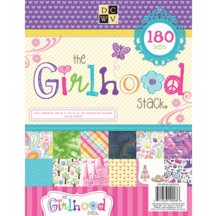 "DCWV The Girlhood Stack 8.5"" x 11"" - 180 sheets - PS-004-00024"