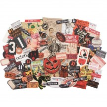 Tim Holtz Idea-ology Halloween Die Cut Ephemera Pack TH93963