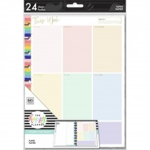 Me & My Big Ideas CLASSIC Happy Planner Color Block This Week Fill Paper APCFP24-001