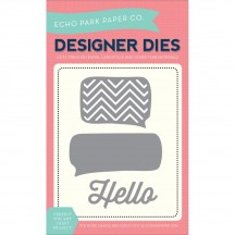 Echo Park Designer Dies Thought Bubbles & Hello Universal Cutting Dies EPPDIE1