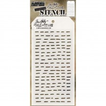 Tim Holtz Dashes Layering Stencil Mask THS101