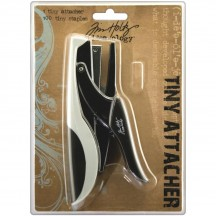 Tim Holtz Idea-ology Tiny Attacher Stapler with 100 Tiny Staples TH92800