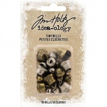Tim Holtz Idea-ology Christmas Tiny Bells TH93744