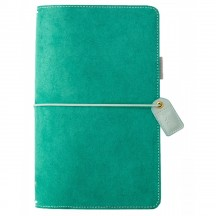 Webster's Pages Aspen Green Suede Travelers Color Crush Planner