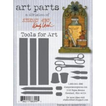 Studio 490 by Wendy Vecchi Art Parts from Stampers Anonymous - Tools For Art